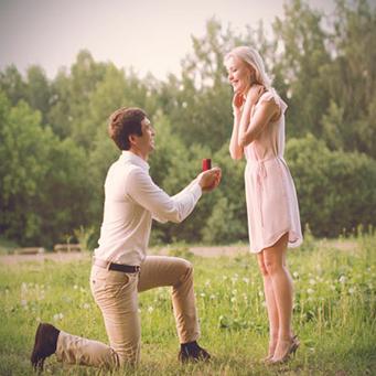 Heiratsantrag romantisch geplant