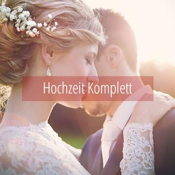 Hochzeit komplett geplant